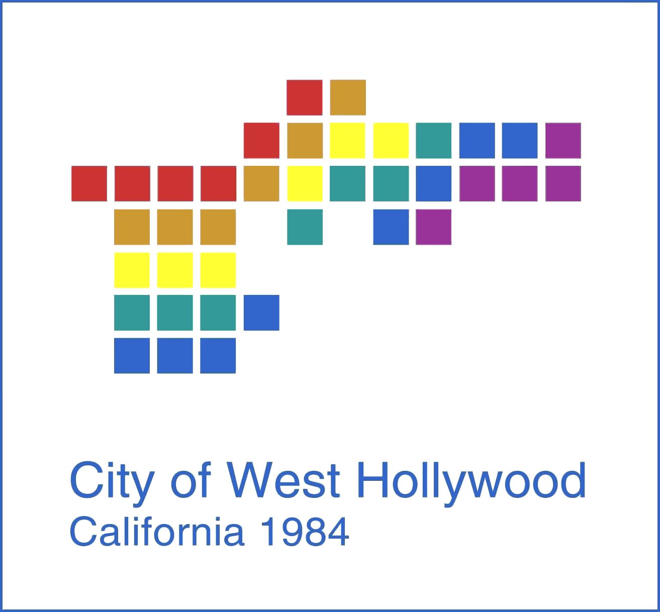 Seal of West Hollywood California