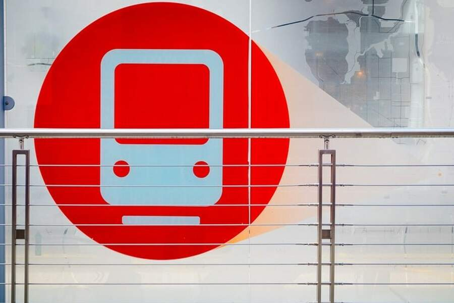 Red Subway Sign Photo 1453708323792 07B295E9Ce5C