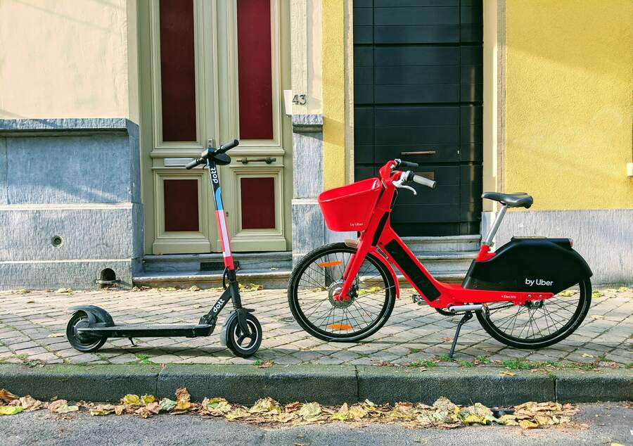 Bike Scooter Sharing Photo By Lucian Alexe On Unsplash