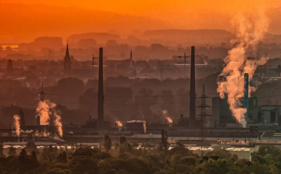 Germany Smog Photo By Clean Energy Wire