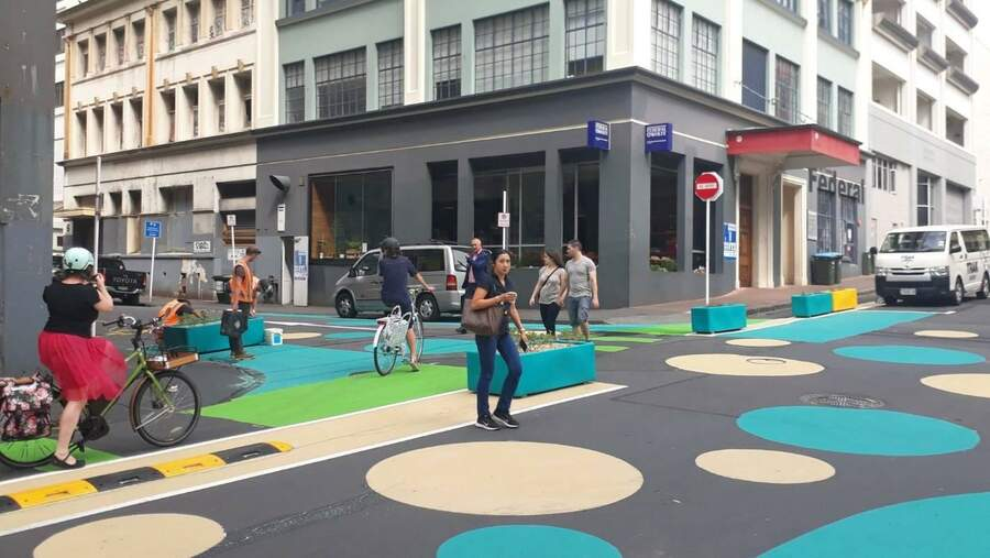 New Zealand Street Design for Social distancing 1586581391778